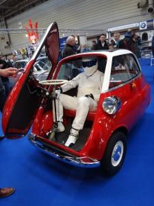 The Stig in Isetta