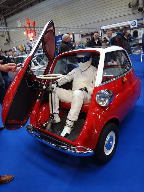 The Stig in Isetta