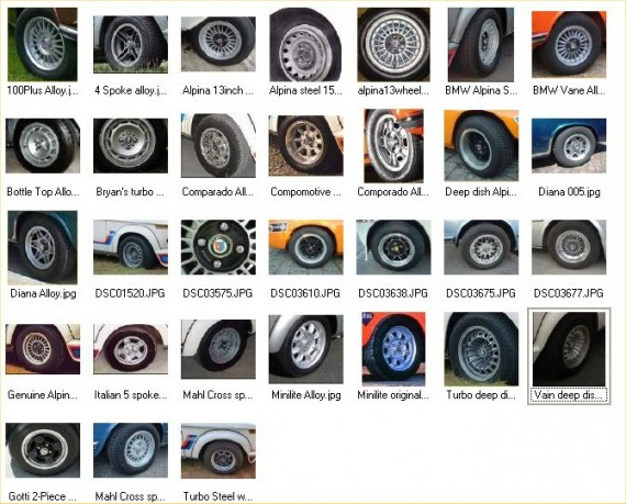 02 Wheel selection